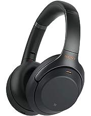 Sony Over-Ear Headphones, Black (WH1000XM3B)