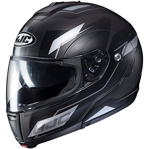 HJC Flow Men's CL-MAX 3 Modular Street Motorcycle Helmet - MC-5SF / ()