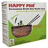 Star Anise Foods Soup Brown Rice Noodle Vietnamese Happy Pho, Shiitake Mushroom, 4.5 Ounce