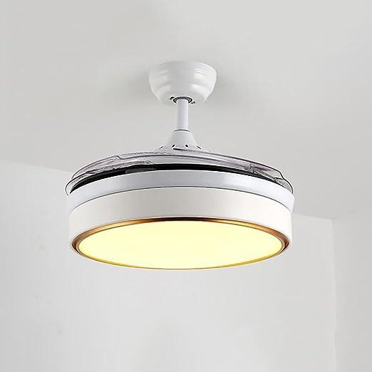Global lighting 42 Pulgadas Nordic Silent Stealth Ventilador Luz ...