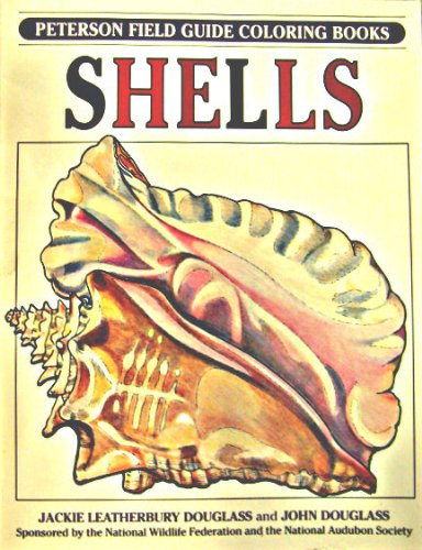 Shells Peterson Field Guide ColorIn Books