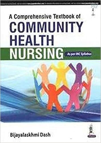 Comprehensive Textbook of Community Health Nursing: As Per