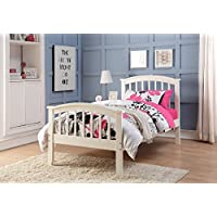 DONCO Kids 2014TW Series Bed, Twin, White