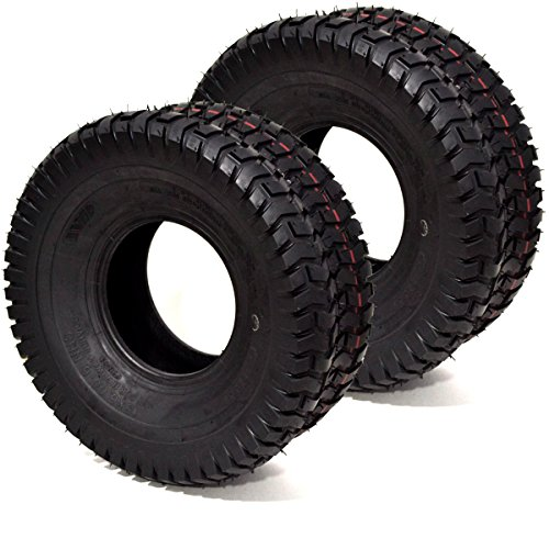 Russo 2PK 15x6.00-6 15x6.00x6 15x6x6 15x6-6 4PLY Commercial Turf Lawn Mower Tires Toro Scag JD Kubota Exmark