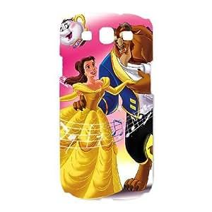 Samsung Galaxy S3 White phone case Disney Cartoon Beauty and the Beast EYB3566489