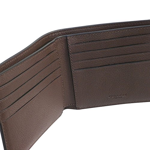 69d66e8f9651 コーチ COACH 財布 折りたたみ財布 メンズ アウトレット レザー 二つ折り カーフ ビルフォード F75084 MAH マホガニー
