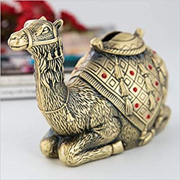 Camel Piggy Bank High-Grade Metal Crafts Cute Childrens Gifts Zinc Alloy Piggy Bank Home Decoration Ornaments