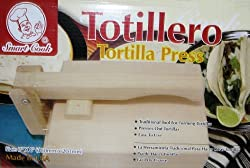 Wood Tortilla Press