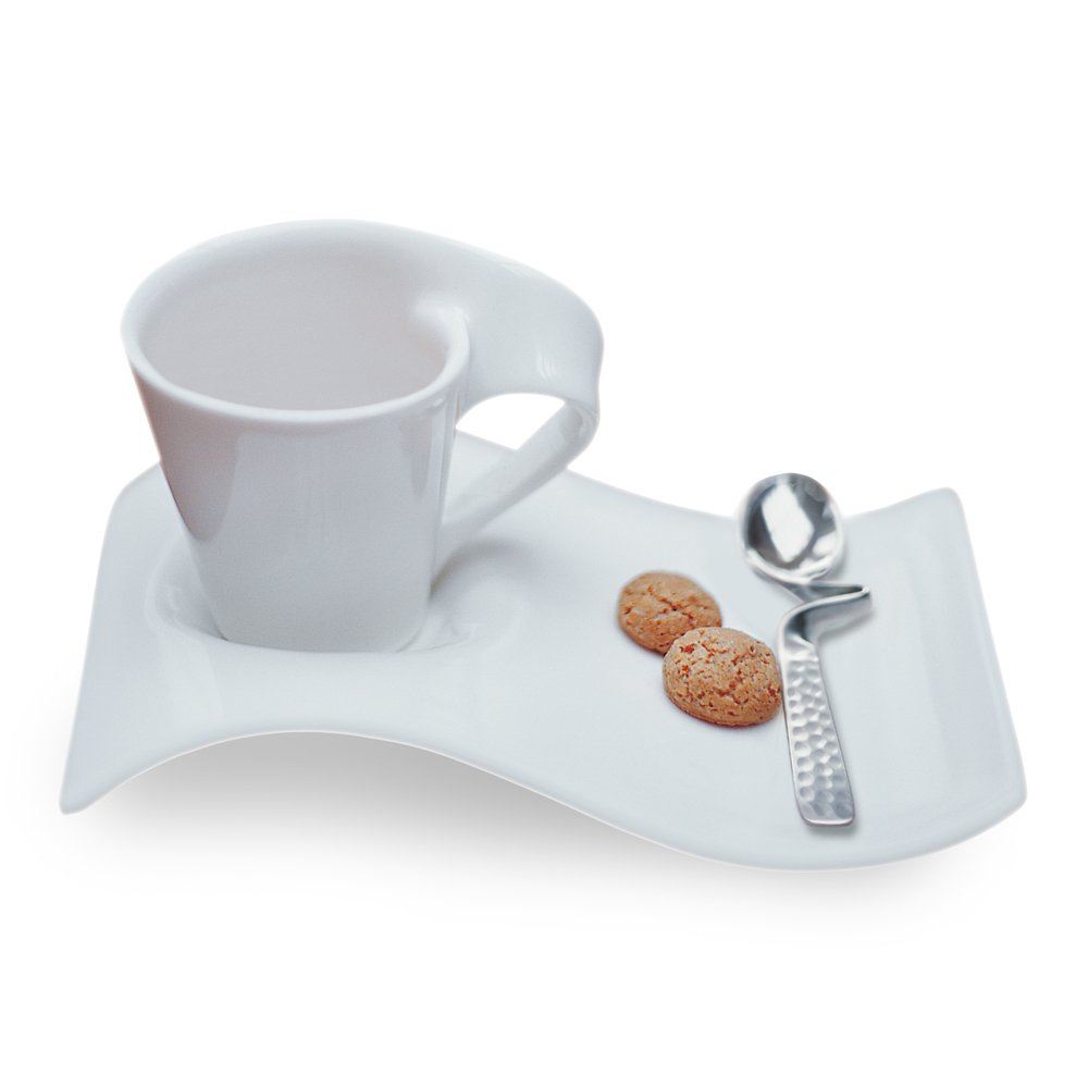 New Wave Espresso Cup and Saucer Set of 2 by Villeroy & Boch