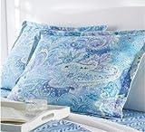 Lauren by Ralph Lauren Bedding Jamaica Blue Paisley Standard Sham