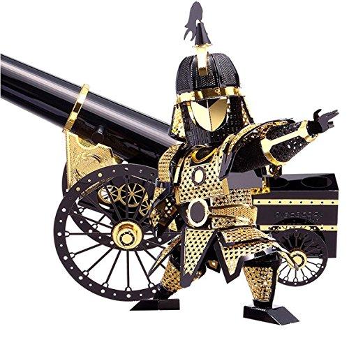 D-Mcark Figure Model Kits Metal Works 3D Laser Cut Models Artillery Jigsaw Developmental Toy for Children Kids (Metal Works 3d Laser Cut Models compare prices)