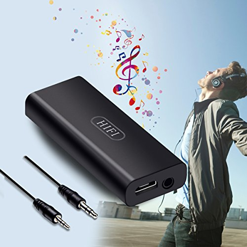HiFi Headphone Amplifier Portable Stereo Earphone Headphone AMP Rechargeble Audio Amplifier 3.5mm Mini AUX Digital Audio Enchancer by More&Better