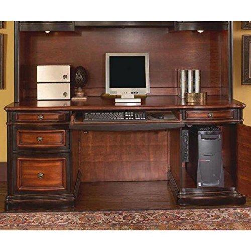Coaster 800500-CO Pergola Double Pedestal Kneehole Credenza Desk