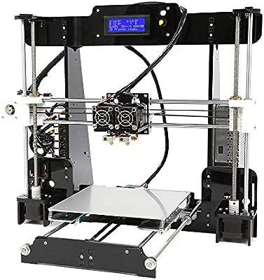 ZHQEUR Anet A8 M Impresora 3D de Alta precisión Reprap I3 DIY Auto ...