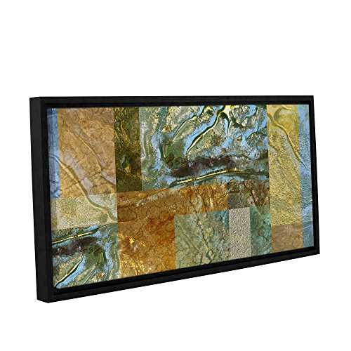 ArtWall Cora Niele's Splendor Gallery Wrapped Floater Framed Canvas, 24 by 48