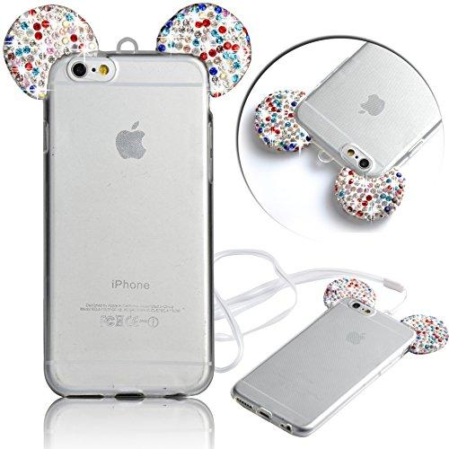 custodia iphone 6 plus con orecchie