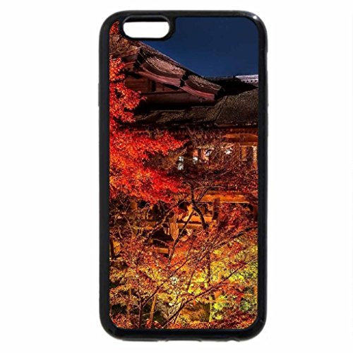 iPhone 6S / iPhone 6 Case (Black) House in Autumn Landscape