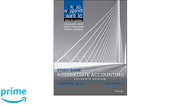 Amazon study guide intermediate accounting volume 2 chapters amazon study guide intermediate accounting volume 2 chapters 15 24 9781119305095 douglas w kieso jerry j weygandt terry d warfield books fandeluxe Image collections