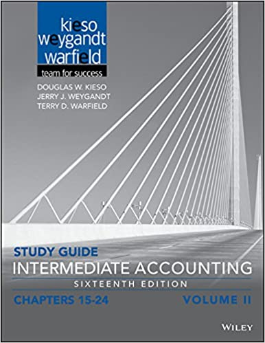 Amazon study guide intermediate accounting volume 2 chapters study guide intermediate accounting volume 2 chapters 15 24 16th edition fandeluxe Image collections
