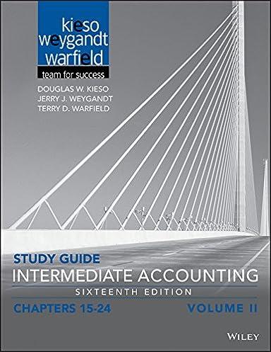 amazon com study guide intermediate accounting volume 2 chapters rh amazon com Intermediate Accounting 14th Edition Solutions Intermediate Accounting 13th Edition