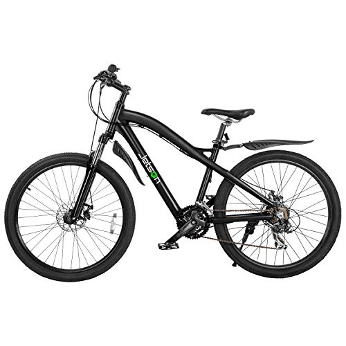 """Jetson Runner Electric Bike with 7-Speed Shimano Gears, LCD Display, and 26"""" Wheels"""