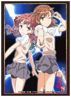 "Bushiroad Sleeve Collection High-grade Vol. 631 ""Toaru Kagaku no Railgun S"" Mikoto & Kuroko (Japan Import)"