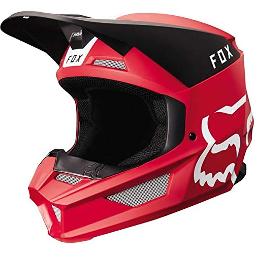 2019 Fox Racing V1 Mata Off-Road Motorcycle Helmet - Cardinal/X-Large