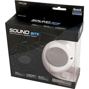 Tritton Sound Bite - USB Portable 2.1 Speaker System for PC (TRIUA211)