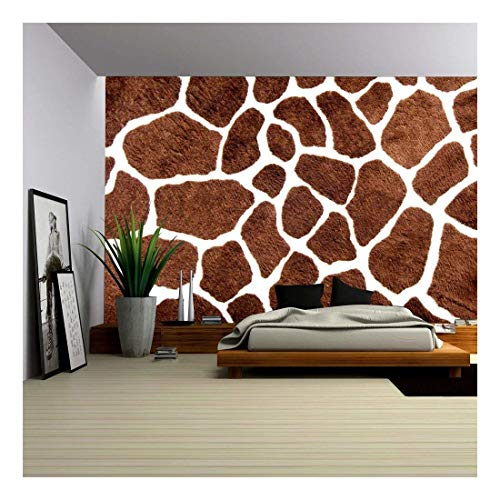 (wall26 - Giraffe Skin Pattern for Background - Removable Wall Mural | Self-Adhesive Large Wallpaper - 66x96 inches)