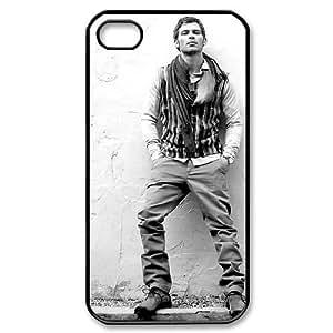 I-Cu-Le Customized Print Joseph Morgan Pattern Back Case for iPhone 4/4S