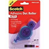 """Scotch Adhesive Dot Roller Refill-.31""""X49', For Use In 55"""