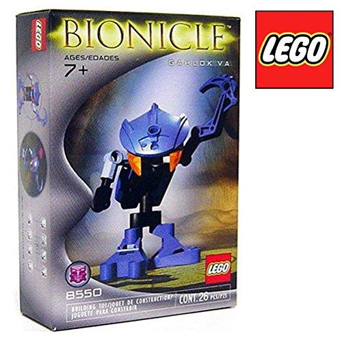 LEGO Bionicle Mini Figure Set #8550 Gahlok Va (Blue)