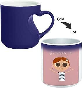 كوب ماجيك مع مقبض داخلي للقهوة أو الشاي من ديكالاك، Mug HM-BLU-02789