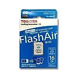 Toshiba Flash Air 16GB Class 10 Wireless Memory Card / Wifi SD Card