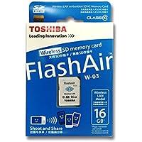 Toshiba FlashAir 16GB wifi SDHC made in JAPAN