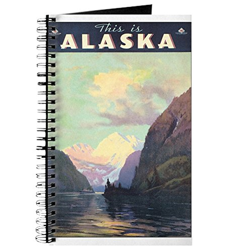 CafePress - Alaska AK Journal - Spiral Bound Journal Notebook, Personal Diary, - In Buy Alaska Best Anchorage