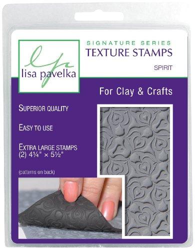 Lisa Pavelka Texture Stamp Kit Spirit (Style #073) by Lisa Pavelka