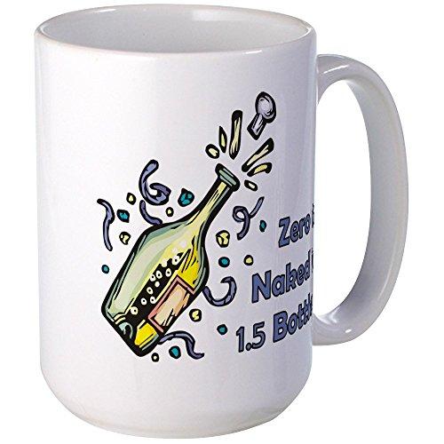 CafePress - Zerotonaked Mugs - Coffee Mug, Large 15 oz. White Coffee Cup