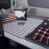 """Innerspace Mobile Truck Relax Series Firm Support 5.5-inch Foam Mattress White 28"""" x 79"""""""
