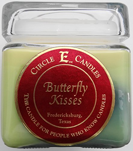 28oz Circle E Candles Butterfly Kisses