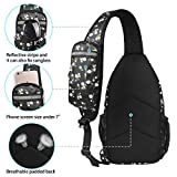 Waterfly Crossbody Sling Backpack Sling Bag Travel