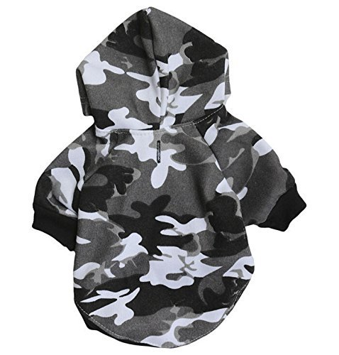 Pet Clothes,Dog Hoodie Pet Apparel Shirt Puppy Cotton Coat Clothing for Small...