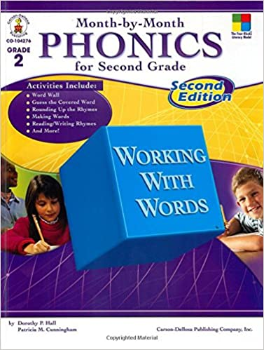 Month by month phonics for second grade second edition patricia m month by month phonics for second grade second edition 2nd ed edition fandeluxe Choice Image