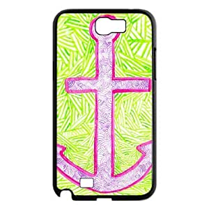 case Of Anchor Customized Bumper Plastic Hard Case For Samsung Galaxy Note 2 N7100