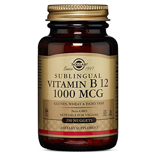 Solgar - Vitamin B12 1000 mcg Nuggets  250 Count