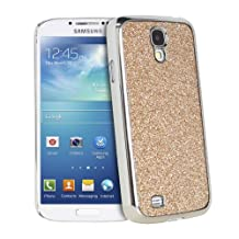 Fosmon GLITTER Series Bling Design Case for Samsung Galaxy S4 / S IV / GT-I9500 - Fosmon Retail Packaging (Gold)