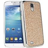 Fosmon GLITTER Sparkle Design Series Bling Hard Case for Samsung Galaxy S4 IV / i9500 (Gold)