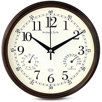 Amazon.Com: 9 Inch Silent Wall Clocks Modern Designs With