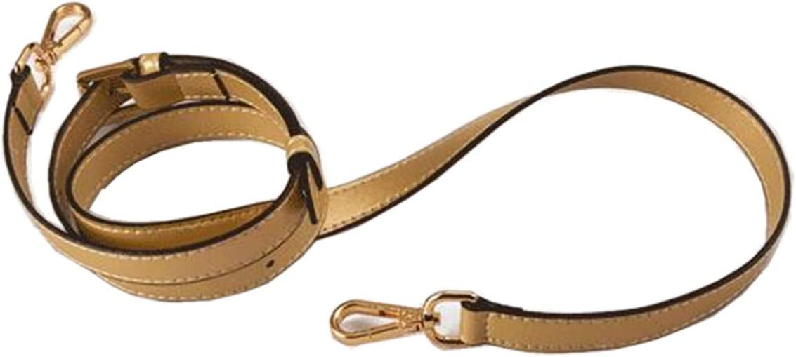 Homieco Replacement Purse Strap Leather Adjustable For Crossbody Shoulder Tote Handbags Bag Buckles DIY 0.47 Width