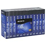 12T120VR Sony 120-Minute Premium VHS Cassettes (12-Pack)